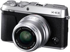 Цифровой фотоаппарат Fujifilm X-E3 23mm (серебристый)