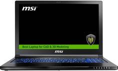 Ноутбук MSI WS63 7RK-413RU (черный)