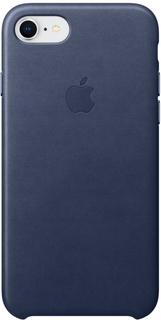 Клип-кейс Клип-кейс Apple Leather Case для iPhone 7/8 (темно-синий)
