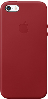 Клип-кейс Клип-кейс Apple Leather Case для iPhone SE/5/5S (красный)