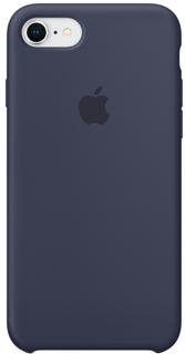 Клип-кейс Клип-кейс Apple Silicone Case для iPhone 7/8 (темно-синий)