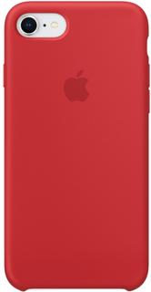 Клип-кейс Клип-кейс Apple Silicone Case для iPhone 7/8 (красный)