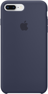 Клип-кейс Клип-кейс Apple Silicone Case для iPhone 8 Plus/7 Plus (темно-синий)