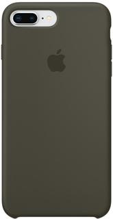 Клип-кейс Клип-кейс Apple Silicone Case для iPhone 8 Plus/7 Plus (темно-оливковый)
