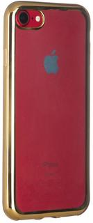 Клип-кейс Клип-кейс Oxy Fashion MetallPlated для Apple iPhone 7/8 (золотистый)