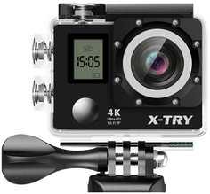 Экшн-камера X-Try XTC210 + пульт ДУ (черный)