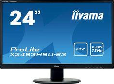Монитор Iiyama ProLite X2483HSU-B3 (черный)