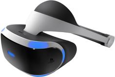 Шлем виртуальной реальности Sony PlayStation VR+GTS/VRW VCH/P (черно-серебристый)