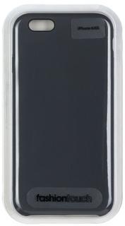 Клип-кейс Клип-кейс Oxy Fashion Silicon Smart для Apple iPhone 6/6S (темно-серый)