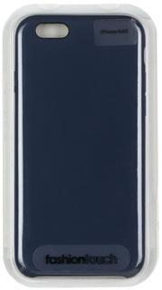 Клип-кейс Клип-кейс Oxy Fashion Silicon Smart для Apple iPhone 6/6S (темно-синий)