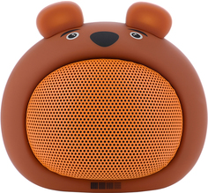 Портативная колонка InterStep SBS-170 Медвежонок (коричневый)