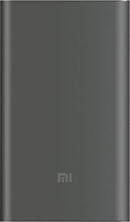 Портативное зарядное устройство Xiaomi Mi Power Bank Pro 10000 мАч (серый)