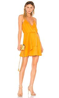 Платье с жатой талией indigo - NBD