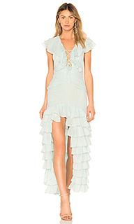 Вечернее платье с рюшами te quiero - NBD