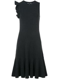 платье без рукавов с оборкой  Proenza Schouler