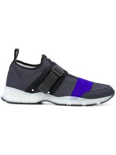 кроссовки с эластичными лямками Dior Homme