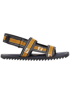 сандалии с логотипом  Fendi