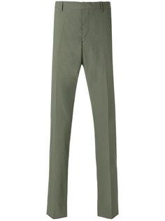 classic straight leg trousers Prada