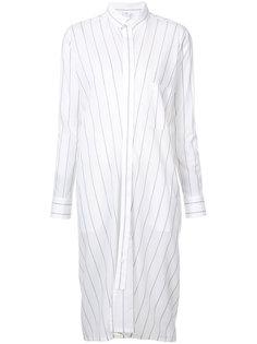 полосатое платье-рубашка Ys Ys