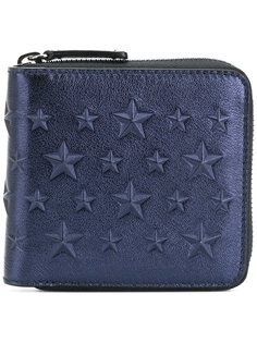 Lawrence star studded zip around wallet Jimmy Choo