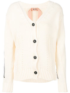 v-neck cardigan Nº21