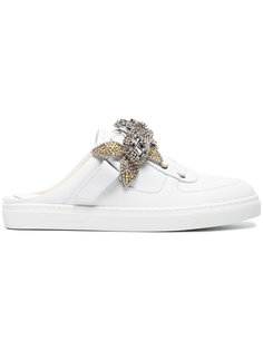 Crystal Embellished Lilico Sneakers Sophia Webster