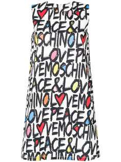 платье с логотипом  Love Moschino