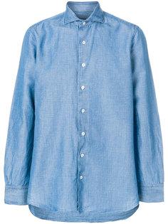 рубашка с вышивкой Lardini