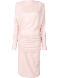платье-миди со сборным дизайном Tom Ford