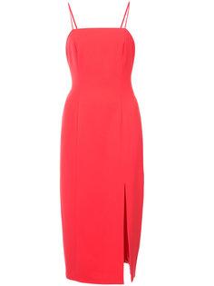 облегающее платье с разрезом сбоку Jay Godfrey