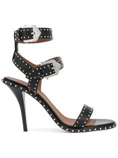 босоножки из ремешков с заклепками Givenchy