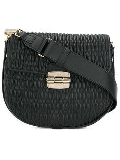 стеганая сумка на плечо Furla