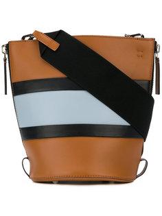 сумка-тоут в полоску Marni