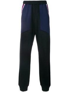спортивные брюки с полосками по бокам Facetasm