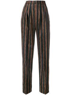 брюки в полоску с узором пейсли Golden Goose Deluxe Brand