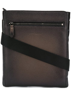 textured leather messenger bag Salvatore Ferragamo
