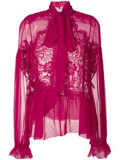 полупрозрачная блузка Givenchy