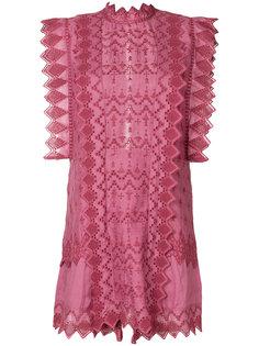 платье с оборками Isabel Marant