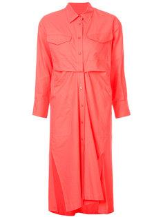 платье-рубашка с нагрудными карманами Sies Marjan