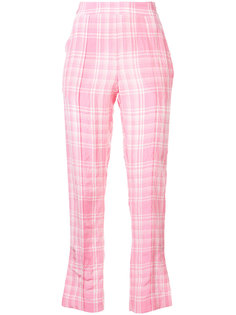 клетчатые брюки Oboe Rosie Assoulin