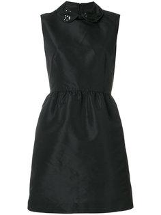 """декорированное платье с воротником """"Питер Пэн"""" Red Valentino"""