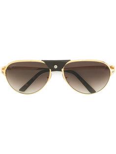 солнцезащитные очки Santos de Cartier Cartier