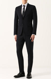 Шерстяной костюм с пиджаком на двух пуговицах Dsquared2