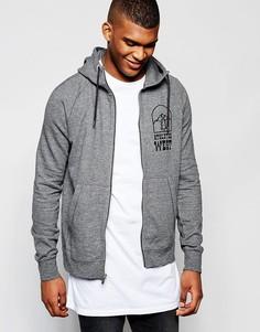 Серый худи на молнии Nike Legacy 805134-071 - Серый