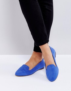 Туфли на плоской подошве London Rebel - Синий