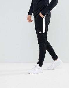 Черные джоггеры слим Nike Tribute 861652-010 - Черный