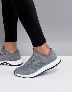 Серые кроссовки adidas Running PureBOOST BB6278 - Серый
