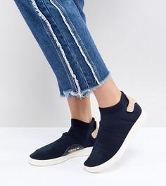 Женские темно-синие кроссовки adidas Originals Stan Smith - Темно-синий