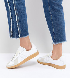 Женские белые кроссовки с резиновой подошвой adidas Originals Bw Army - Белый