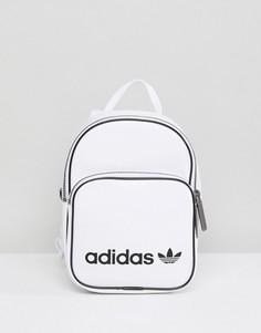 Белый маленький рюкзак из искусственной кожи adidas Originals - Белый